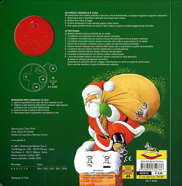 Babbo Natale Canzone.Babbo Natale
