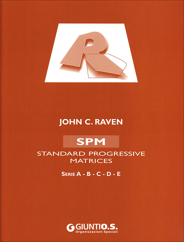 spm raven Description: the standard progressive matrices (spm) it is the first and most widely used of three instruments known as the raven's progressive matrices.